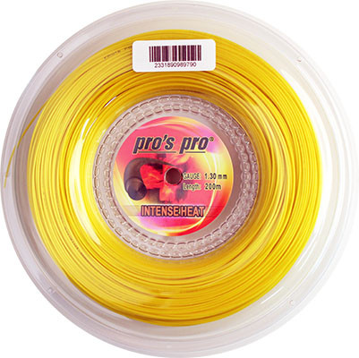 Tenisa stīgas Pro's Pro Intense Heat (200 m) - yellow