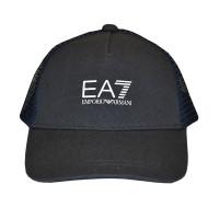 Kapa za tenis EA7 Man Woven Baseball Hat - ebony/white
