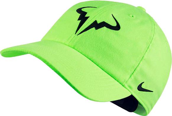 Nike Rafa U Aerobill H86 Cap - ghost green/black