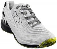 Męskie buty tenisowe Wilson Kaos 2.0 - white/black/safety yellow