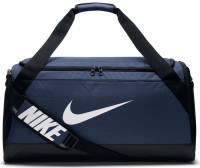 Nike Brasilia Medium Duffel - midnight navy/black/white