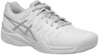 Asics Gel-Resolution 7 Clay - white/silver