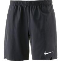 Męskie spodenki tenisowe Nike Flex Ace 9IN Short - black/white