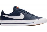 Juunioride tennisetossud Nike Court Legacy (GS) Jr - midnight navy/white