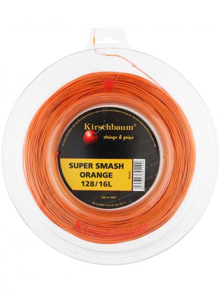 Tenisa stīgas Kirschbaum Super Smash Orange (200 m)