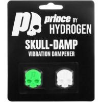 Tenisa vibrastopi Prince By Hydrogen Skulls Damp Blister 2P - green/white