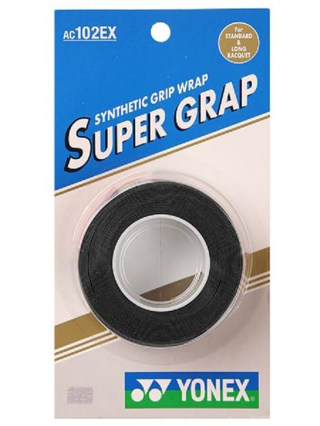 Viršutinės koto apvijos Yonex Super Grap (3 vnt.) - black