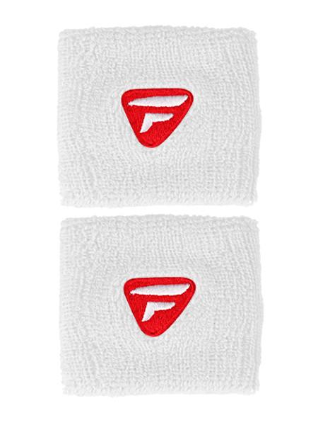 Frotka tenisowa Tecnifibre Wristband (2 szt.) - white