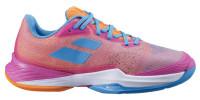 Damskie buty tenisowe Babolat Jet Mach 3 Clay Women - hot pink