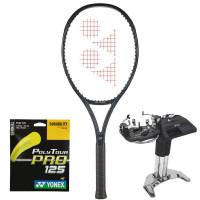 Rakieta tenisowa Yonex VCORE 100 Galaxy Black (300g) + naciąg + usługa serwisowa