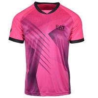 EA7 Man Jersey T-Shirt - pink fluo