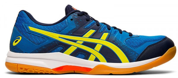 Buty do squasha Asics Gel-Rocket 9 - electric blue/sour yuzu
