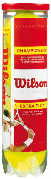 Piłki tenisowe Wilson Championship Extra Duty 4B