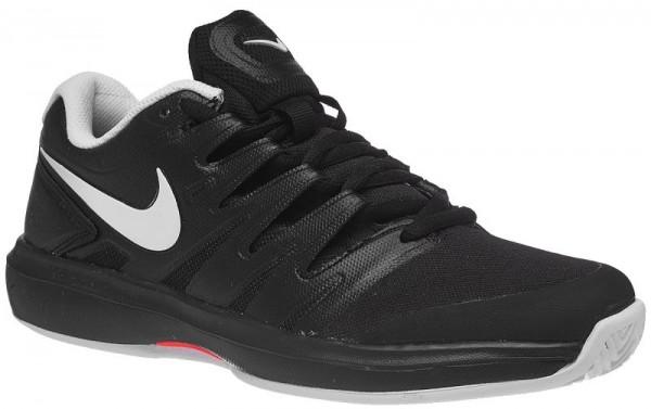 Męskie buty tenisowe Nike Air Zoom Prestige Clay - black/white/bright crimson
