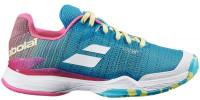 Damskie buty tenisowe Babolat Jet Mach II AC Women - capri breeze/pink