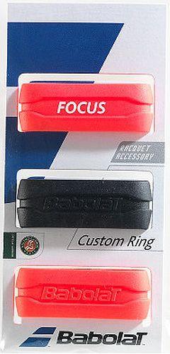 Babolat Custom Ring 3P - black/fluored