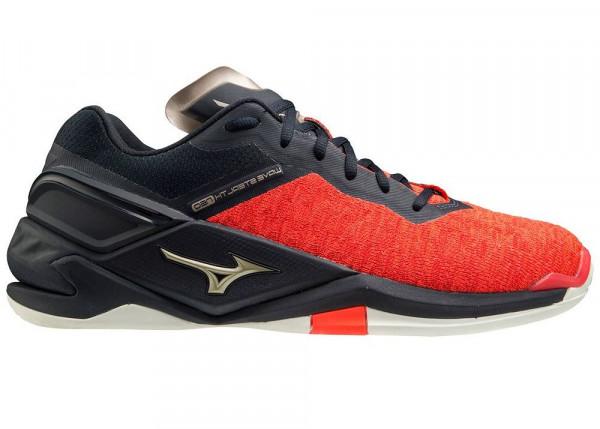 Męskie buty do squasha Mizuno Wave Stealth Neo - ignitionr/pgold/salute