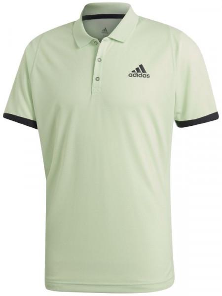 Polo T shirt Adidas NY Polo glow greencarbon