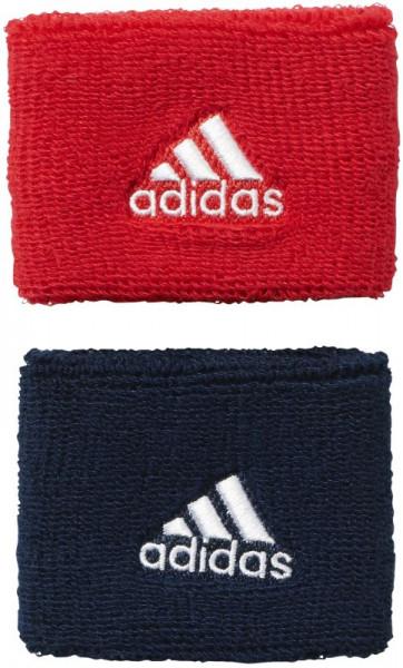 Adidas Tennis Wristband S (OSFM) - ray red/collegiate navy/white