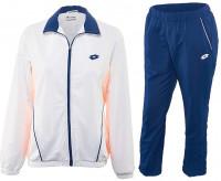 Damski dres tenisowy Lotto Shela II Suit DB - white/blue china