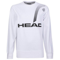 Ženski sportski pulover Head Rally Sweatshirt W - white