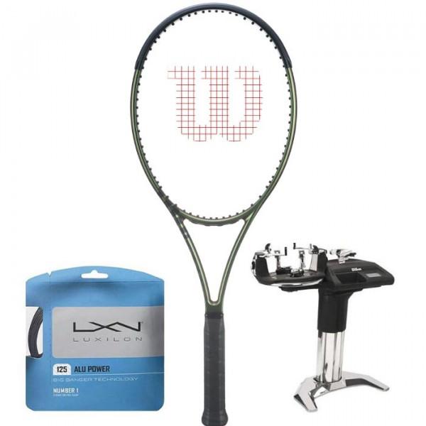 Tenisa rakete Wilson Blade 100L V8.0 + stīgas + stīgošanas pakalpojums