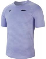 Męski T-Shirt Nike Court Rafa Aeroreact Top SS Slam - purple pulse/black
