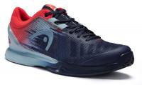 Męskie buty tenisowe Head Sprint Pro 3.0 Men - dress blue/neon red