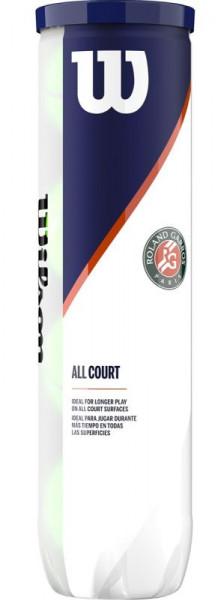 Teniso kamuoliukai Wilson Roland Garros All Court 4B