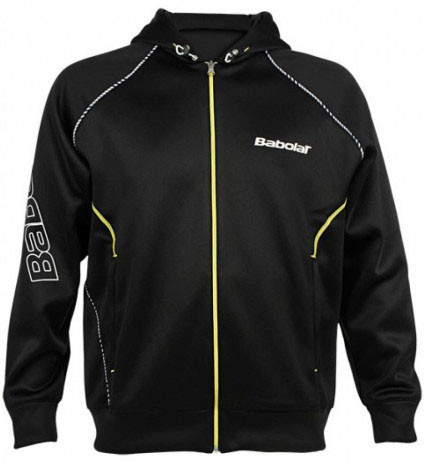 Babolat Bomber Jacket Boy - black