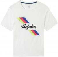 Australian Jersey T-Shirt with Print - bianco
