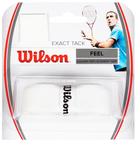 Skvoša gripi Wilson Exact Tack (1 szt.) - white
