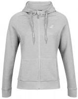 Bluza dziewczęca Babolat Exercise Hood Jacket Girl - high rise heather
