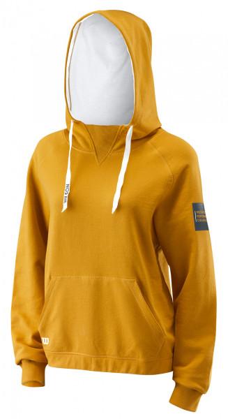Damska bluza tenisowa Wilson W Since 1914 PO Hoody - nugget gold