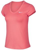 Nike Court Dry Top SS W - sunblush/white