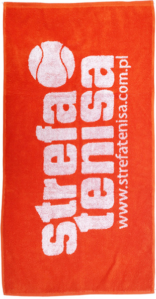 Strefa Tenisa Towel - orange/white