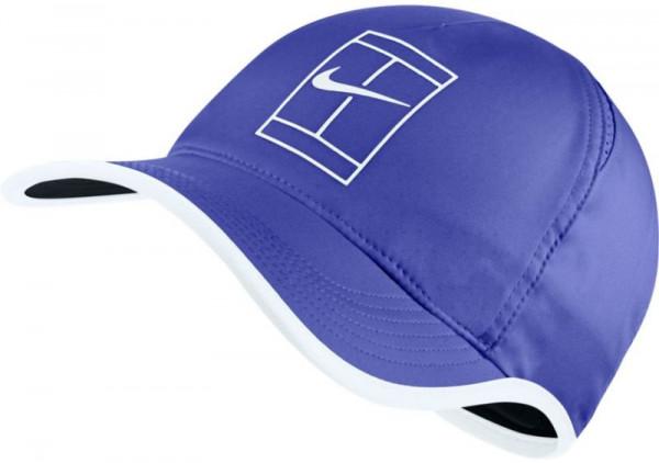 Nike Court U Aerobill Feather Light Cap - paramount blue/white/black/white