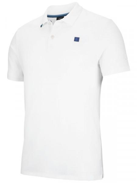 T-shirt Nike Boys RF Essential Polo - white