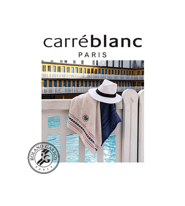 Ręczniki Roland Garros - Carreblanc Paris