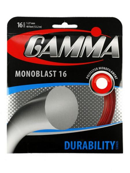 Naciąg tenisowy Gamma Monoblast (12,2 m) - yellow