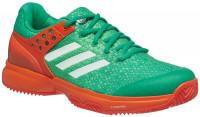 Damskie buty tenisowe Adidas Adizero Ubersonic 2 W Clay - core green/ftw white