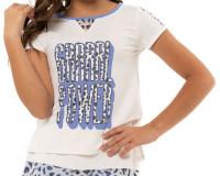 Majica kratkih rukava za djevojčice Lucky in Love On The Prowl Grrrl Power Tee Girls - white