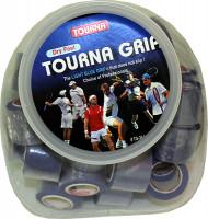 Owijki tenisowe Tourna Grip Dry Feel Jar Display (36 szt.) - blue