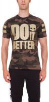 Męski T-Shirt Hydrogen Do It Better T-Shirt - camouflage