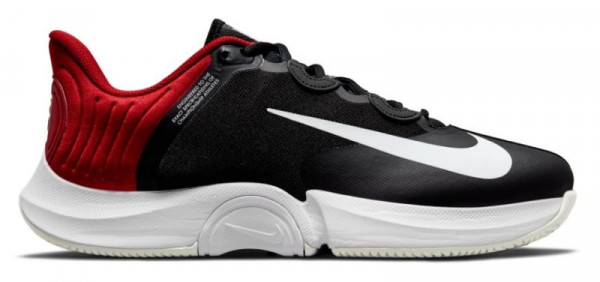 Meeste tennisetossud Nike Air Zoom GP Turbo - black/white gym red light bone