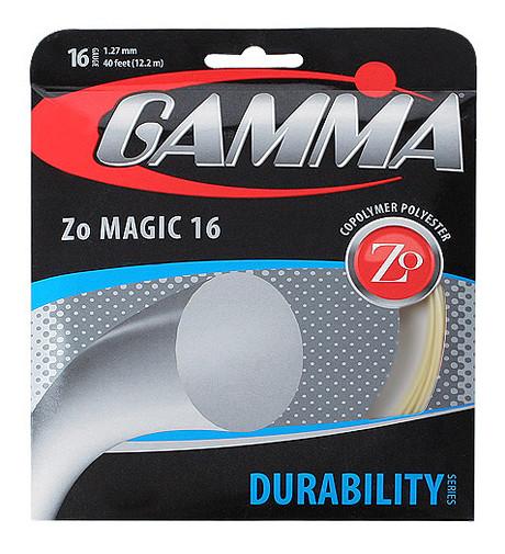 Teniska žica Gamma ZoMagic (12,2 m) - natural