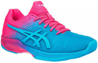 Damskie buty tenisowe Asics Solution Speed FF Clay L.E. W - aquarium/hot pink