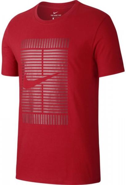 Nike Court OZ Tee - gym red