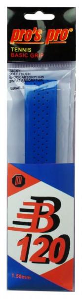 Owijki tenisowe bazowe Pro's Pro Basic Grip B 120 (1 szt.) - blue