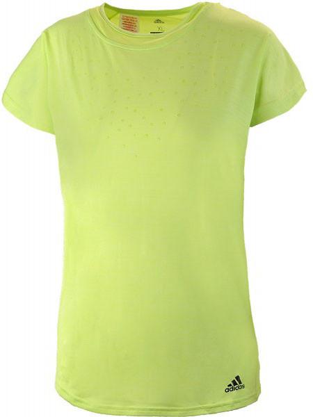 Koszulka dziewczęca Adidas Dotty Tee - semi frozen yellow